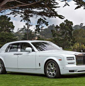 Rolls Royce Phantom huren wit